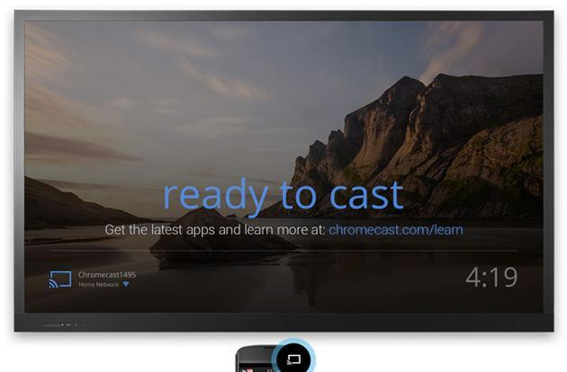 Weather forecasts and user photos could be headed to Chromecast's home screen