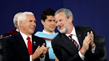 Prominent evangelical Jerry Falwell Jr. denies having a sexual relationship with a former Miami pool attendant but says his wife did