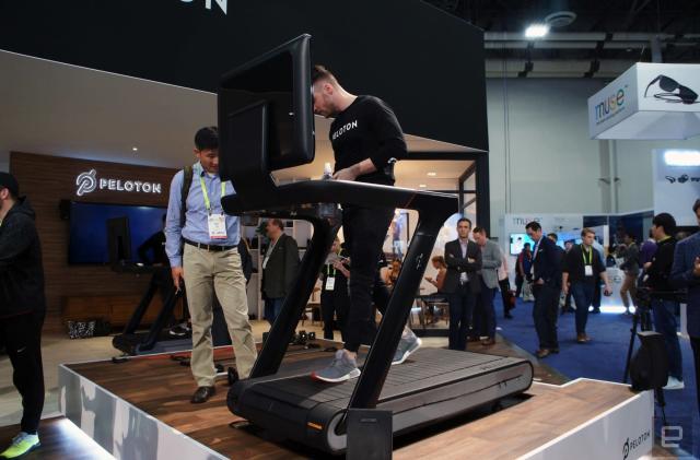 Peloton's $4,000 treadmill comes with a 32-inch TV