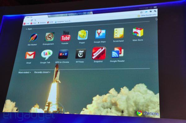 Google Chrome OS gets detailed, first laptops from Acer and Samsung coming mid-2011