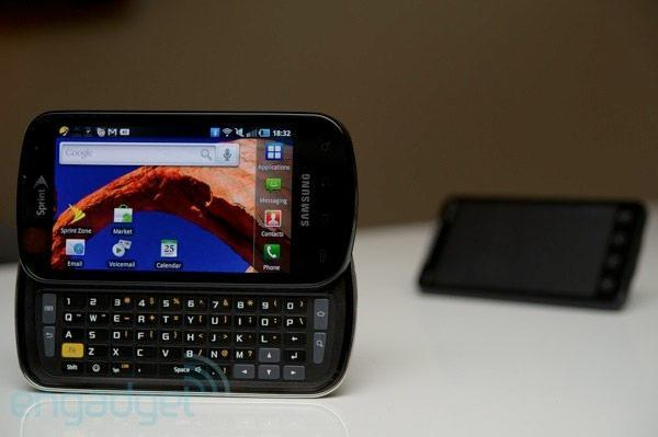 Android 2.2 update for Samsung Epic 4G leaks out