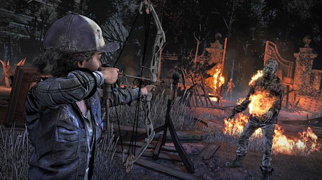 Telltale's final 'The Walking Dead' season continues September 25th