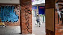 UK high streets hit by lockdown suffer worst month on record