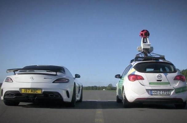 Google's reasonably priced Street View car tours Top Gear's test track