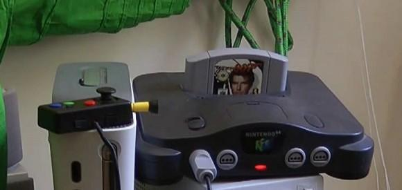 Tiny N64 controller guaranteed to cause serious crampage