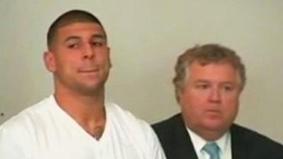 Patriots Hernandez Charged With Murder