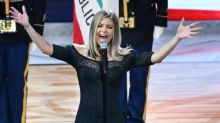 Fergie apologises for botched National Anthem performance and says she 'tried her best'