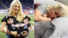 Football WAG's heartbreaking post after surgery for brain tumour