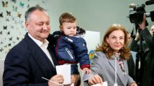 Pro-Russian candidate to face second round in Moldova presidential vote