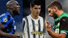 Serie A, le probabili formazioni: da Berardi vs Lukaku a tutti gli altri duelli