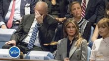 John Kelly's facepalm at Trump's United Nations speech goes viral