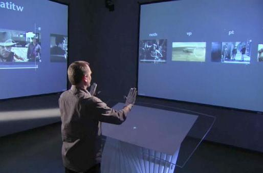 Minority Report UI designer demos his tech at TED (video)