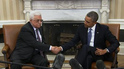 Obama and Abbas Discuss Peace Deal
