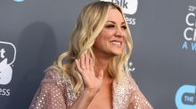 """Die Müdigkeit weggeschminkt: """"Big Bang Theory""""-Star Kaley Cuoco zeigt sich auf Instagram mit und ohne Make-up"""