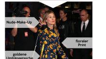 Look des Tages: Rosamund Pike im farbenfrohen Blumenkleid