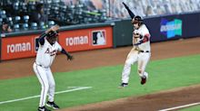 MLB playoff updates: Braves offense explodes in Game 1 win over Marlins