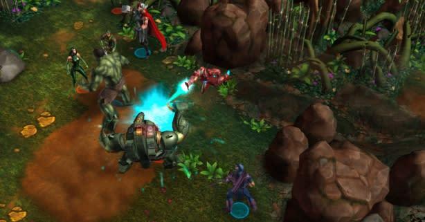 Marvel returns to Facebook in Avengers Alliance Tactics