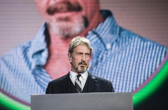 John McAfee arrested for tax evasion, charged by SEC for touting ICOs