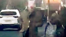 Man who terrorised schoolchildren wearing pig mask arrested for racism