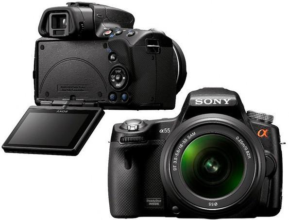 Sony Alpha A55 makes articulating cameo, A33 and some rumored specs tag along