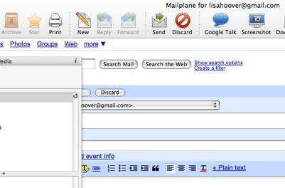 Mailplane 1.51 adds iMedia browser and support for more languages