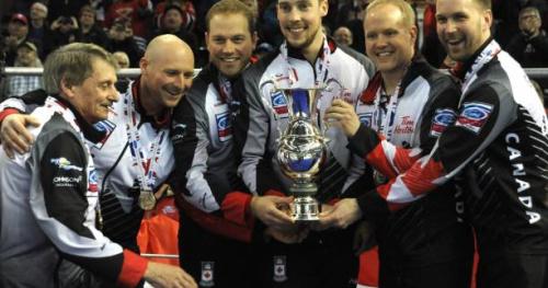 Curling - ChM - Le Canada sacré face à la Suède