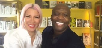 Terry Crews talks wife's double mastectomy