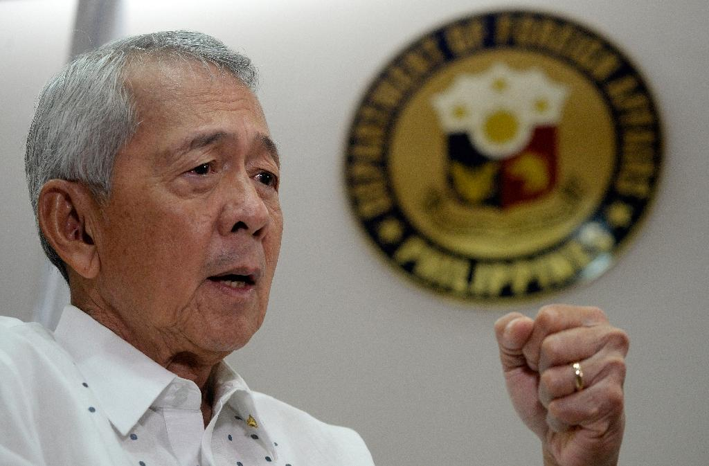 Philippine Foreign Secretary Perfecto Yasay said the country was willing to share natural resources with China (AFP Photo/Neol Celis)