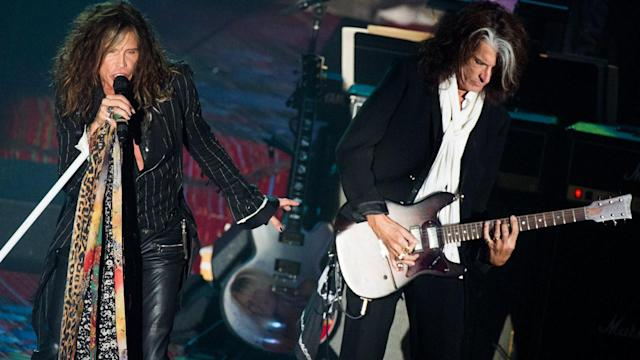 Aerosmith's Steven Tyler, Joe Perry inducted into Songwriters Hall of Fame