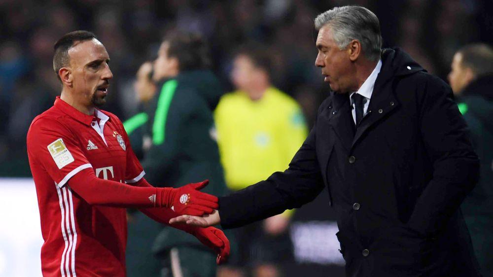 Medien: Angeknackste Stimmung zwischen Ancelotti und Ribery