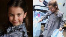 Así eran Charlotte y otros 'royals' cuando tenían cinco añitos