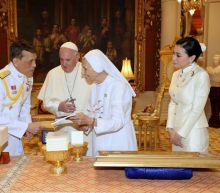Pope's cousin takes star turn in Thailand as papal whisperer