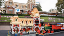 New Lego Disney Train and Station set captures one of the most iconic parts of Disneyland