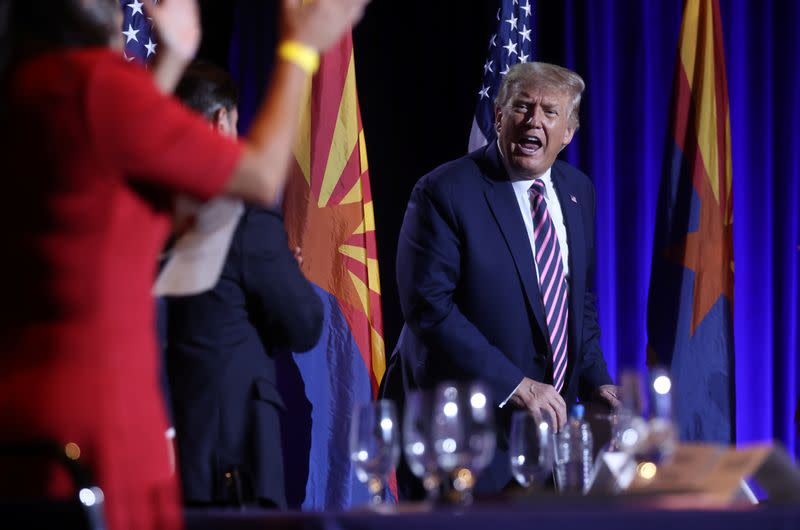 Trump camp shifting new ad to economy after law-and-order focus