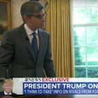 Donald Trump's George Stephanopoulos Chat Zinged In Late Night (Cough, Cough)
