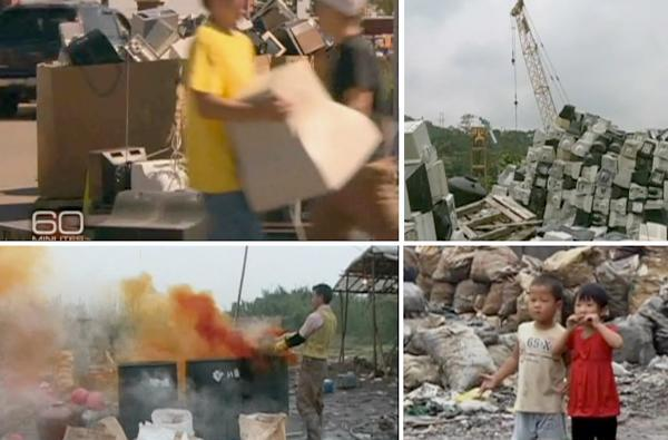 Video: China's wasteland of toxic consumer electronics revealed