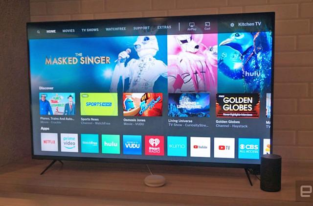 Sharp sues Vizio over display tech in 70-inch TVs