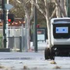 Robots take on takeout delivery service in San Jose