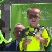 6-Year-Old Boy Gets His Wish to be a Garbage Man