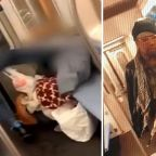 Disturbing video shows man kicking elderly woman in face on New York City subway