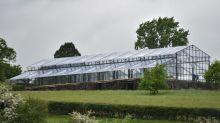 La gigante carpa para la boda de Pippa Middleton