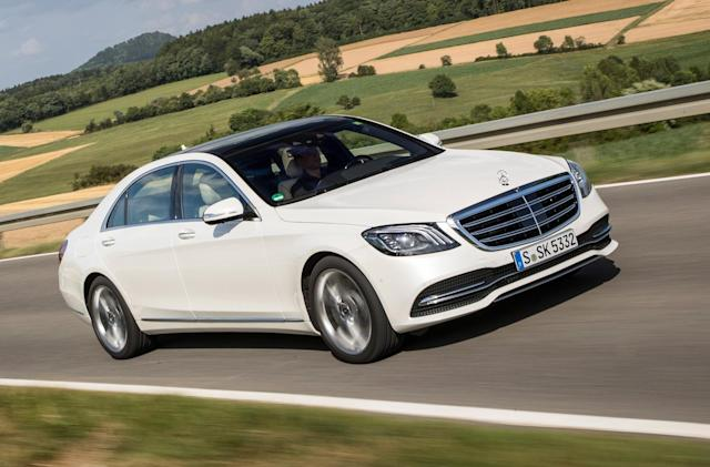 Mercedes prepares electric equivalent to its S-Class luxury sedan