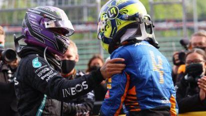 F1 - GP d'Émilie-Romagne - Lewis Hamilton (Mercedes): «Je ne suis qu'un être humain»