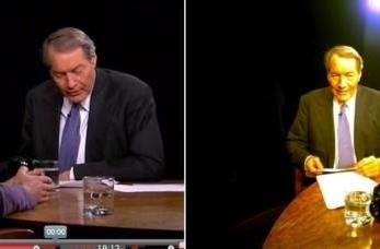 Project Glass makes a TV appearance on Charlie Rose, flashes its rear for the cameras