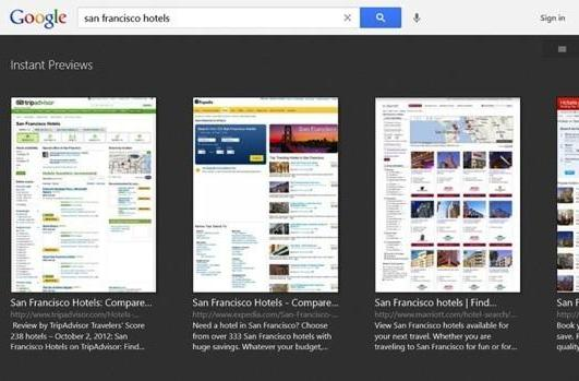 Google delivers search app for Windows 8 with a touch of tablet optimization