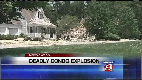 Yarmouth condo exxplosion kills one, injures three
