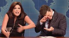 Cecily Strong's Shrill, Drunken Jeanine Pirro Swamps 'Weekend Update' On 'SNL'