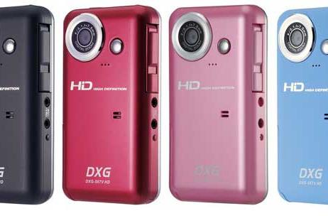 $179 DXG-567V HD camcorder uploads right to YouTube