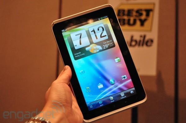 HTC's WiFi-only Flyer launching exclusively with Best Buy 'this spring'