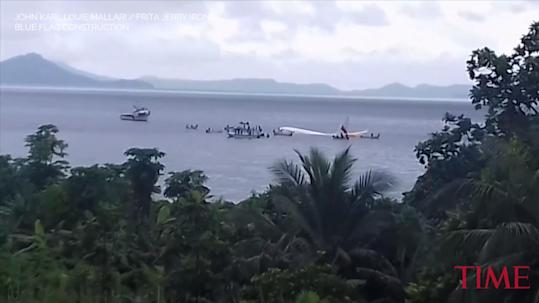 A Plane Crashed into a Lagoon in Micronesia and Everyone